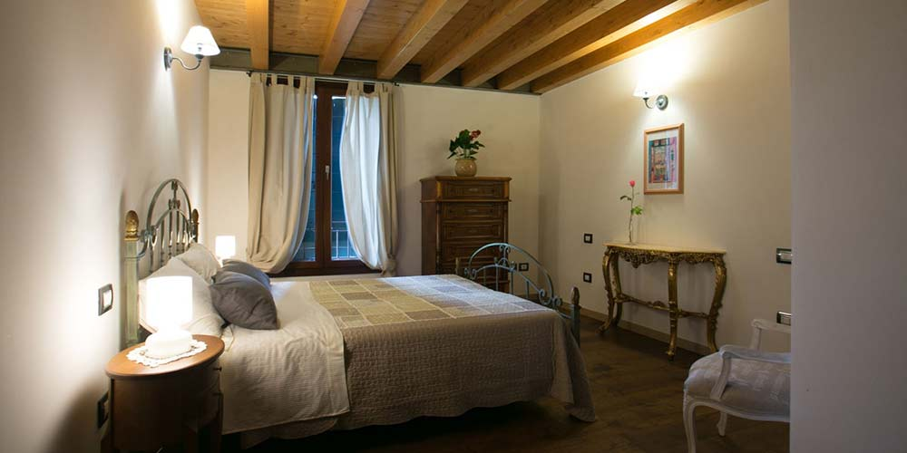 Le camere del bed and breakfast Ca Gemma a Treviso